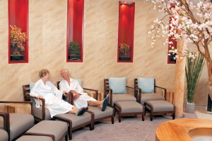 Der Ruheraum im Wellness-Center