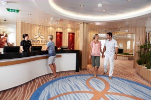 Die Rezeption des Vitality at Sea Spa