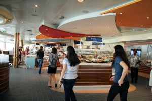 Buffet Restaurant Windjammer Marketplace auf der Oasis of the Seas
