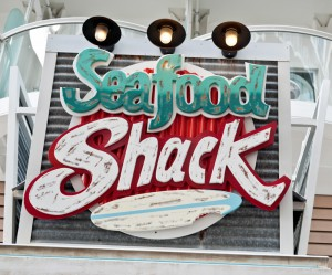 Seafood Shack auf der Oasis of the Seas