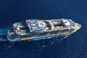 Oasis of the Seas volle Punktzahl bei Hygiene Inspektion